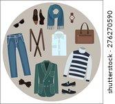 Set Of Men's Clothing  ...