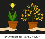 create new ideas to find a way... | Shutterstock .eps vector #276274274