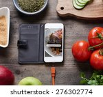 Food Recipes Smart Phone On...