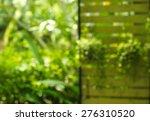 Blur Green Garden