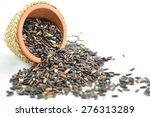 black glutinous rice  glutinous ... | Shutterstock . vector #276313289