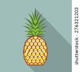 pineapple vector | Shutterstock .eps vector #276321203