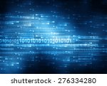 hi tech technological background | Shutterstock . vector #276334280
