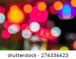 bokeh at a  restaurant. | Shutterstock . vector #276336623