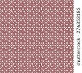 vintage polka dots old.... | Shutterstock .eps vector #276353183