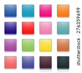 set of stylish colored buttons  ... | Shutterstock .eps vector #276359699