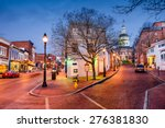 Annapolis  Maryland  Usa...