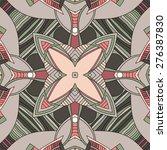 decorative seamless pattern.... | Shutterstock .eps vector #276387830