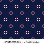 sea and nautical seamless... | Shutterstock .eps vector #276389663
