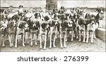 Vintage Photo Of A Pack Of...