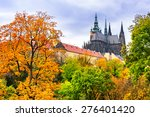 st. vitus cathedral in prague ... | Shutterstock . vector #276401420