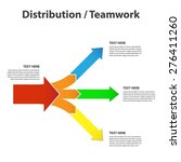 teamwork and focus on results   ...   Shutterstock .eps vector #276411260