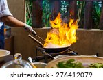 pot with fire | Shutterstock . vector #276412079