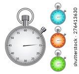 set of clean vector color... | Shutterstock .eps vector #276413630
