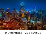 bangkok night | Shutterstock . vector #276414578