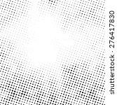 grunge halftone dots vector... | Shutterstock .eps vector #276417830
