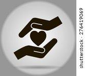 heart and hands | Shutterstock .eps vector #276419069