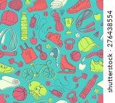 vector illustration sport and... | Shutterstock .eps vector #276438554