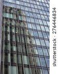 office building  glass wall... | Shutterstock . vector #276446834