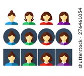 set of people icons. people...