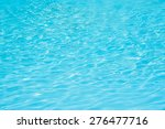 blue pool water ripples.... | Shutterstock . vector #276477716