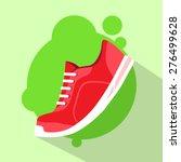 Sneaker Sport Running Shoe Fla...