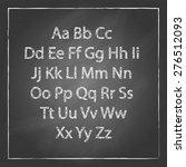 vector illustration of chalk... | Shutterstock .eps vector #276512093