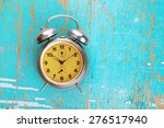 vintage retro alarm clock on...   Shutterstock . vector #276517940