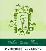 eco green concept | Shutterstock .eps vector #276520940