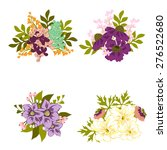 colour flower composition | Shutterstock .eps vector #276522680