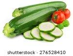 zucchini  cherry tomatoes and... | Shutterstock . vector #276528410