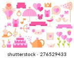 various objects on a theme of... | Shutterstock .eps vector #276529433