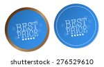 best price stickers | Shutterstock .eps vector #276529610
