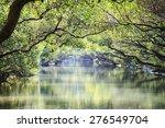 four grass green tunnel  tainan ... | Shutterstock . vector #276549704