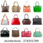 female handbags collection... | Shutterstock . vector #276551789