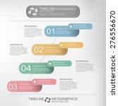 timeline minimal style... | Shutterstock .eps vector #276556670
