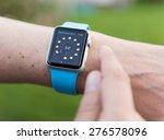 seattle  usa   may 8  2015  man ... | Shutterstock . vector #276578096