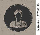 student design on old... | Shutterstock .eps vector #276581990