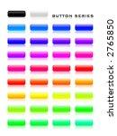 aqua button series with 34... | Shutterstock . vector #2765850
