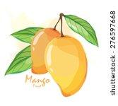 mango fruit   Shutterstock .eps vector #276597668