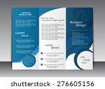 tri fold flyer | Shutterstock .eps vector #276605156