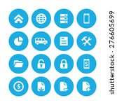 bank icons universal set for... | Shutterstock .eps vector #276605699
