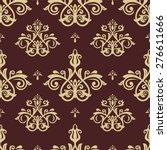 oriental vector fine texture... | Shutterstock .eps vector #276611666