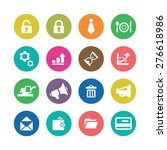 b2b icons universal set for web ... | Shutterstock .eps vector #276618986