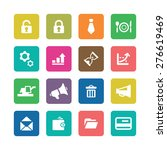 b2b icons universal set for web ... | Shutterstock .eps vector #276619469