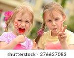 slovakian fan | Shutterstock . vector #276627083