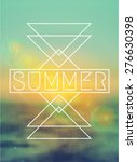 Abstract Geometric Summer...