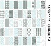50 geometric seamless pattern...   Shutterstock .eps vector #276630968