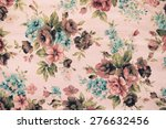 fragment of colorful retro... | Shutterstock . vector #276632456