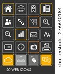 web icons | Shutterstock .eps vector #276640184